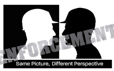 Enforcement: Same Picture, Different Perspective